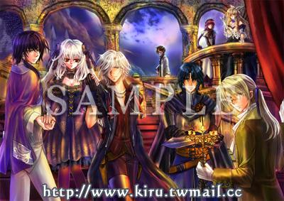原创游戏画册《luna serenade~月光夜想曲~》